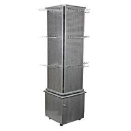 3 Units of Aluminum Stand Floor Display - Displays & Fixtures