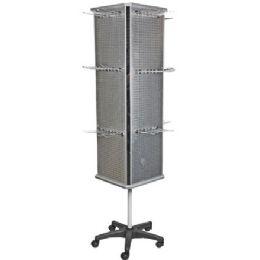 2 Units of Aluminum Stand Floor Display - Displays & Fixtures