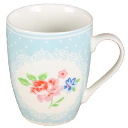 72 Units of Mug With Flower - Coffee Mugs