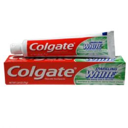 48 Units of Colgate TP 2.8oz Sparkling White Mint Zing - Toothbrushes and Toothpaste