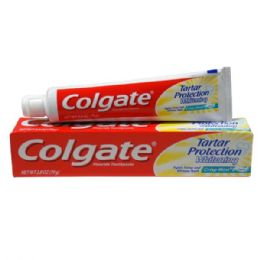 48 Units of Colgate TP 2.5oz Tartar Whitening Paste - Toothbrushes and Toothpaste