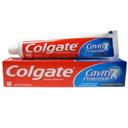 24 Units of Colgate 8oz Cavity Protect - Toothbrushes and Toothpaste