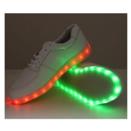 6 Units of LED SHOES ADULT MIX SIZE IN GREY