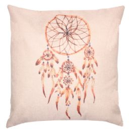 36 Units of HOME FASHION PILLOW WITH FLOWERS - Pillows