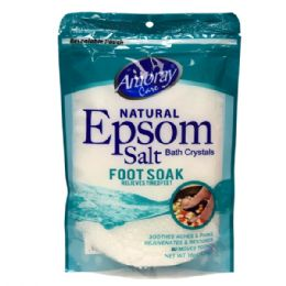36 Units of Amoray Epsom Salt Bag 16oz Foot Soak - Pain and Allergy Relief