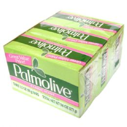 48 Units of Palmolive Bar Soap 3pk 3.2oz Classic Green - Soap & Body Wash