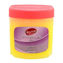 48 Units of Amoray Petroleum Jelly 6oz Baby - Shower Caps