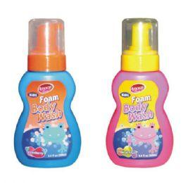 48 Units of Amoray Kids Foam 8.4oz Body Wash - Soap & Body Wash