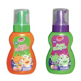 48 Units of Amoray Kids Foam 8.4oz Shampoo - Soap & Body Wash