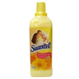 24 Units of Suavitel 850ml Amora De Sol Yellow - Laundry Detergent