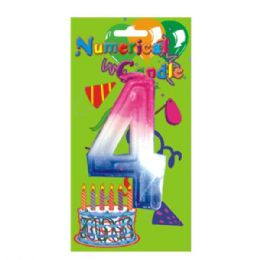 48 Units of Numerical Candle #4 - Birthday Candles