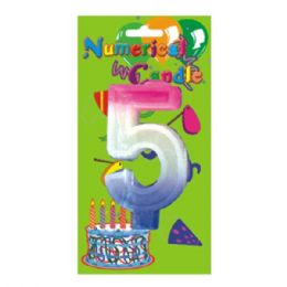 48 Units of Numerical Candle #5 - Birthday Candles