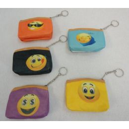 72 Units of Zippered Change Purse Emojis - Coin Holders & Banks