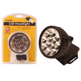 24 Units of Led Light 12 Head W/black - Lightbulbs