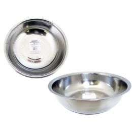 "48 Units of BOWL 9.8"" STAINLESS STEEL - Baking Supplies"