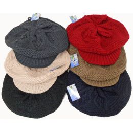 60 Units of Knit Beret with Peck