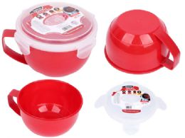 24 Units of Soup Bowl With Air Vent - Food Storage Containers