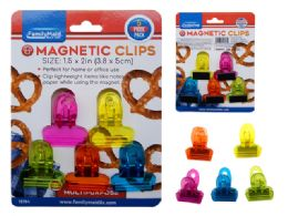 96 Units of 5pc Multipurpose Magnetic Clips - Clips and Fasteners