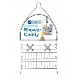 12 Units of Chrome Showerhead Caddy - Shower Accessories