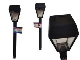 "24 Units of Solar Post Light 2.4x2.4x15.5"" - Garden Decor"