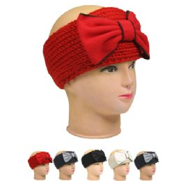 36 Units of WOMAN WINTER HAT 007 WITH A BOW