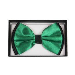 48 Units of Bowtie 028 Two Tone Green - Bows & Ribbons