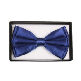 36 Units of Bowtie 013 Navy Blue - Bows & Ribbons