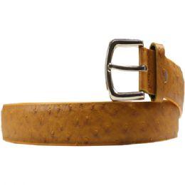 36 Units of Men's Fashion Brown Belt - Mens Belts