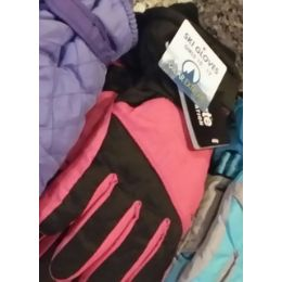 24 Units of Girls Ski Glove - W/thinsulate - Ski Gloves