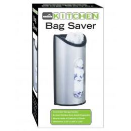 12 Units of Stainless Steel Kitchen Bag Saver - Waste Basket