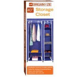 5 Units of STORAGE CLOSET NAVY BLUE - Storage & Organization