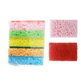 48 Units of 6 Piece Sponge & Scrubber - Scouring Pads & Sponges
