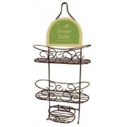 12 Units of Bronze Shower Caddy - Bathroom Accessories