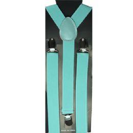 48 Units of Aqua Adult Suspender - Suspenders