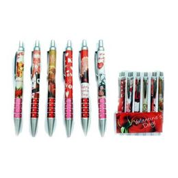 24 Units of Valentine's Pen's - Valentine Decorations