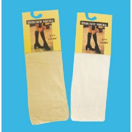 48 Units of Women's Trouser Sock - Womens Trouser Sock