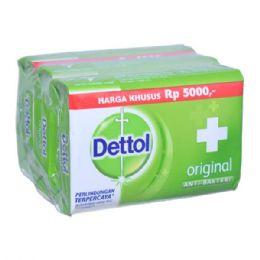 48 Units of Dettol Soap 105g X 3 Pack Original - Soap & Body Wash