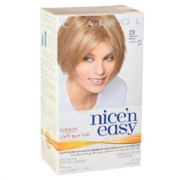 24 Units of Clairol Nice & Easy Hair Color Light Ash Blonde Ap22 - Hair Products