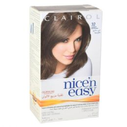24 Units of Clairol Nice & Easy Hair Color Lightes Ash Brown 32ap - Hair Products