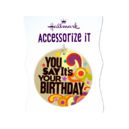 432 Units of 'you Say It's Your Birthday' Gift Trim Tag - Gift Bags