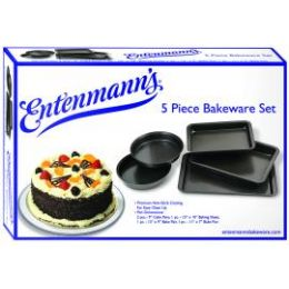 6 Units of Classic 5 PC. Bakeware Set - Baking Supplies