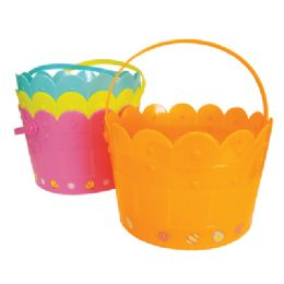 48 Units of EASTER BASKET 7.5 X 5 INCH - Easter