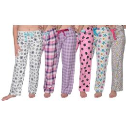 36 Units of Ladies Flannel Pajama Bottoms - Womens Pants