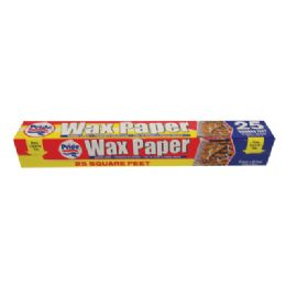 36 Units of Wax Paper 25 Sq FT-12 Inches X 25 Feet - Baking Supplies