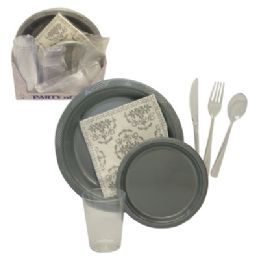 8 Units of 84 PC PARTY TABLEWARE SET - Party Paper Goods