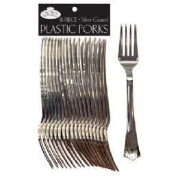 36 Units of Crown Plastic Dinnerware Cutlery - Disposable Cutlery