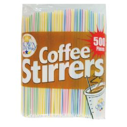 48 Units of Coffee Stirrer - Straws and Stirrers