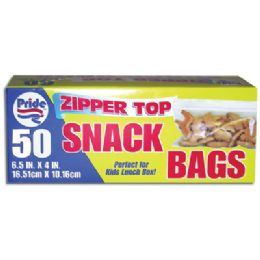 48 Units of 50 Ct Snack Bag - Bags Of All Types