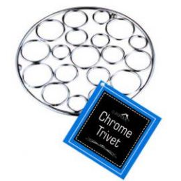 12 Units of CHROME TRIVETS - Coasters & Trivets