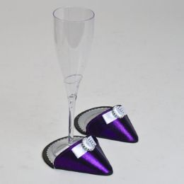 60 Units of Party Shoes Coasters 1 Pair Purple Party Shoe - Coasters & Trivets